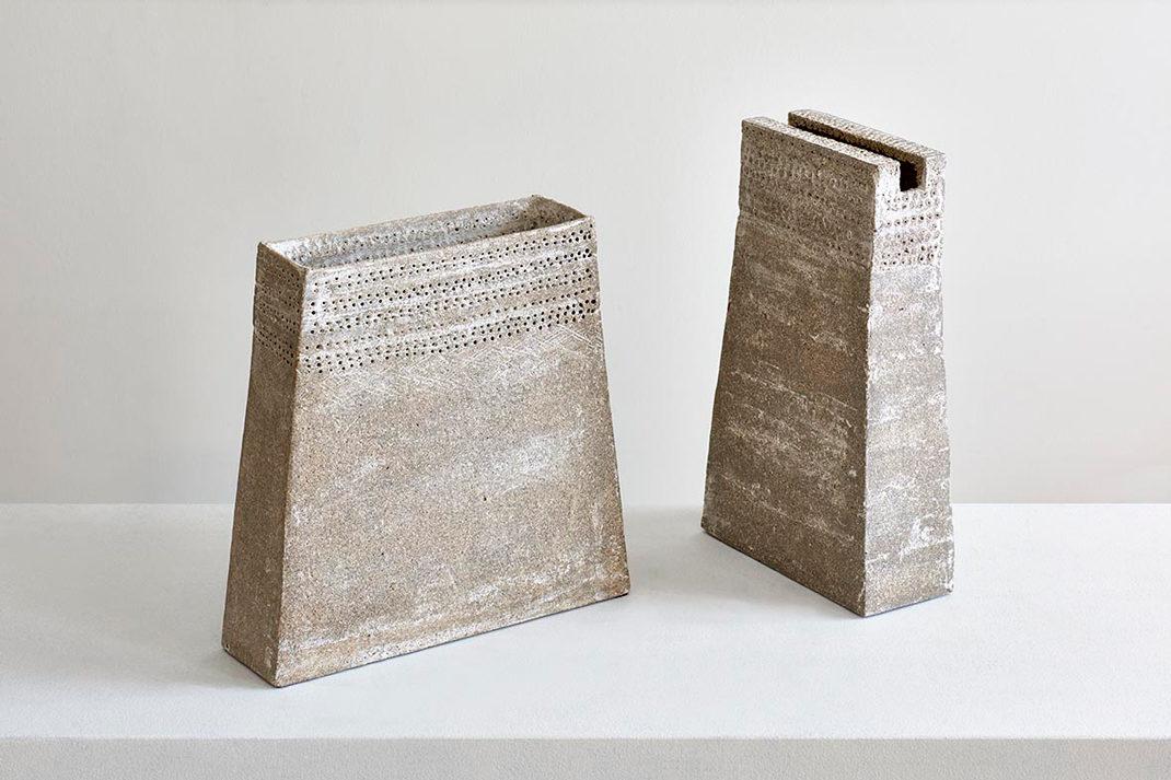 Pyramidenvasen Christine Wagner